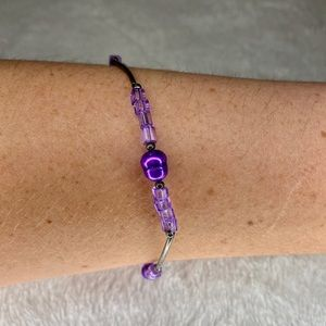 💎BOGO FREE! Purple beaded bracelet!💎🔮😈